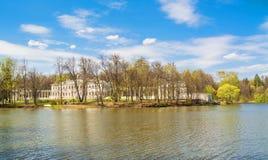 在莫斯科附近的Ostfievo庄园 免版税库存照片