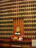 在菩萨牙寺庙的菩萨小雕象在新加坡 库存照片