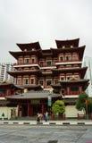 在菩萨牙的美丽的中国文化建筑学寺庙关于 库存照片
