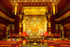 在菩萨牙遗物寺庙和博物馆里面 库存照片