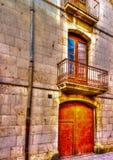 在菲盖尔在西班牙 免版税图库摄影