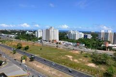 在萨尔瓦多的Paralela高速公路 免版税库存照片