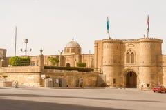 在萨拉丁城堡里面,开罗,埃及,非洲 库存图片