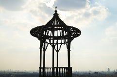 在萨拉丁城堡-开罗的铁平台 免版税库存图片
