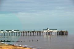 Southwold码头 库存图片