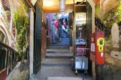 在著名盛大Basar的门在伊斯坦布尔,土耳其 免版税库存照片