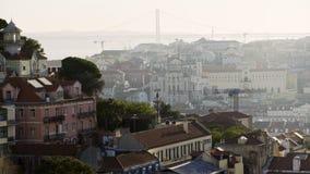里斯本都市风景  股票视频