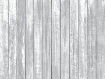 在葡萄酒木桌背景textu的白色颜色削皮油漆 免版税库存照片
