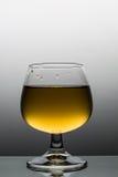 在葡萄酒杯的Alkoholic饮料 库存图片