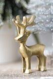 在葡萄酒样式的圣诞节背景 2007个看板卡招呼的新年好 库存照片