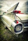 在葡萄酒样式的老美国汽车 免版税图库摄影