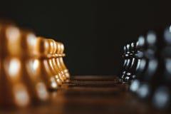 在董事会的棋子 图库摄影