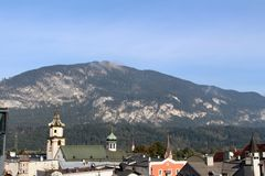在蒂罗尔& x28的Rattenberg; Austria& x29; 库存图片
