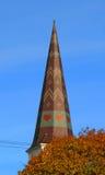 在蒙彼利埃VT的可爱的屋顶 免版税库存照片