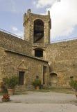 在蒙达奇诺城堡里面 免版税库存照片