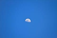 在蓝天的甲晕 库存照片