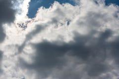 在蓝天的Cloudscape 免版税库存图片