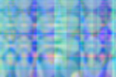在蓝色和绿松石颜色的倍数迷离 库存图片