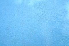 在蓝色地板上的抽象雨下落 免版税库存图片