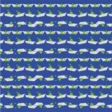 在蓝色的舡鱼纸 免版税库存图片