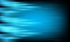 在蓝色背景的抽象传染媒介能量喂速度 免版税库存照片