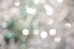 在蓝色background.abstract纹理的光 假日bokeh 摘要 圣诞节 欢乐与defocused和星 库存照片