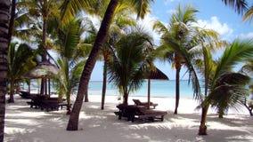 在蓬塔Cana的海滩 免版税库存照片