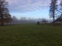 在薄雾1的Holkham庄园 图库摄影