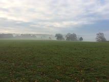 在薄雾1的Holkham庄园 库存照片