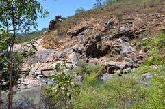 在蜒蜒国家公园的花岗岩 库存图片