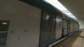 在行动的旅客列车 股票视频