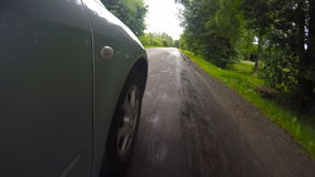 在行动的汽车 影视素材