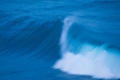 在行动的波浪 库存照片