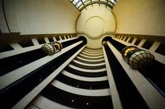 在行动的电梯 免版税库存照片