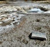 在行动的痉挛喷泉 库存照片