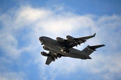 在行动的空军队 图库摄影
