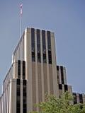 在街市泰勒得克萨斯的办公楼。 免版税库存照片