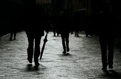 在街道上。 免版税图库摄影