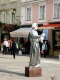 在街道上在萨尔茨堡,奥地利 库存照片