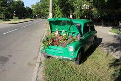 在街道上的Ð ¡ ar 免版税图库摄影