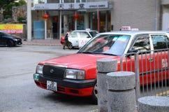 在街道上的出租汽车 库存图片