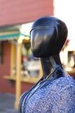 在街道上的时装模特 图库摄影