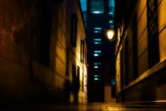 在街道上的鬼魂 免版税库存照片