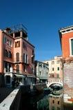 在街道威尼斯附近 免版税库存图片