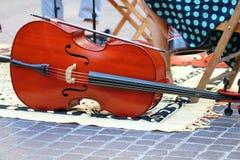 在街道的音乐 图库摄影