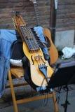 在街道的音乐 免版税库存图片