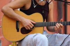 在街道的音乐 免版税图库摄影