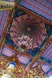在衢州瓷的Buddism寺庙 库存图片