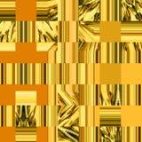 在补缀品样式的几何样式 连续的装饰品 免版税库存照片