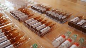 在表上的配药一次用量的针剂 股票录像
